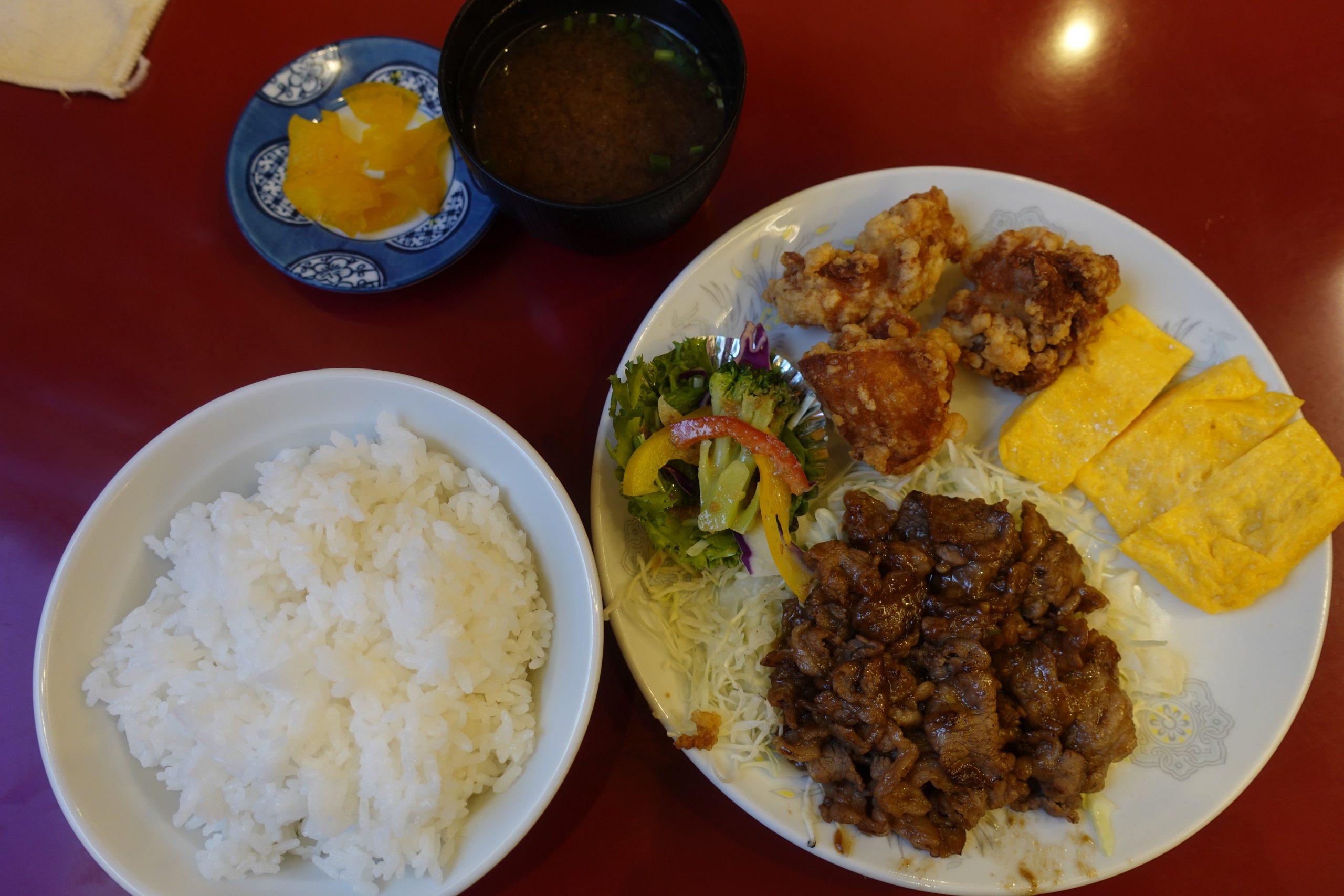 奄美大島南国飯店料理01