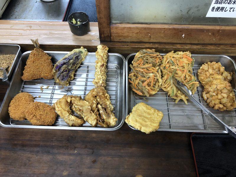 藤村製麺所の天婦羅
