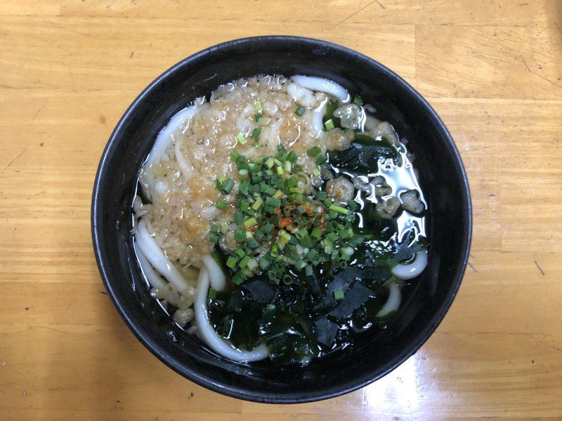 藤村製麺所のかけうどん02